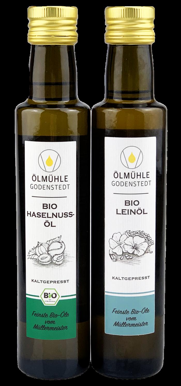 Bio Leinöl & Bio Haselnussöl