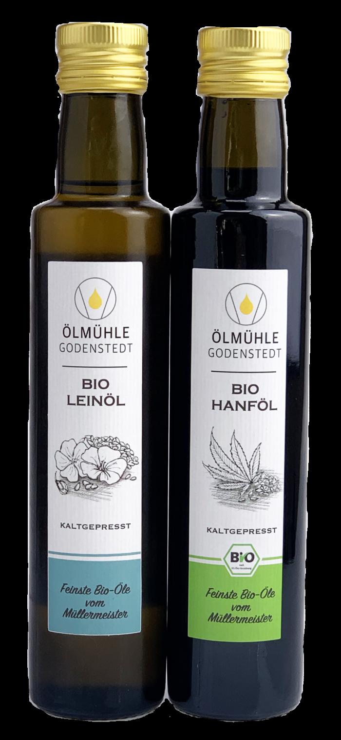 Bio Hanföl & Bio Leinöl