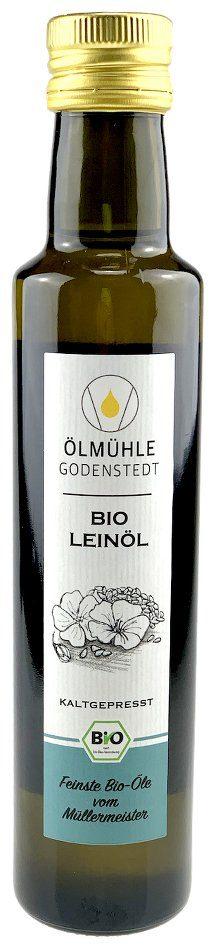 Bio Leinöl kaltgepresst mühlenfrisch aus Niedersachsen