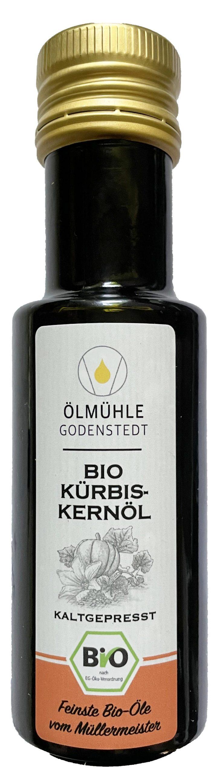 Bio Kürbiskernöl kaltgepresst in Deutschland