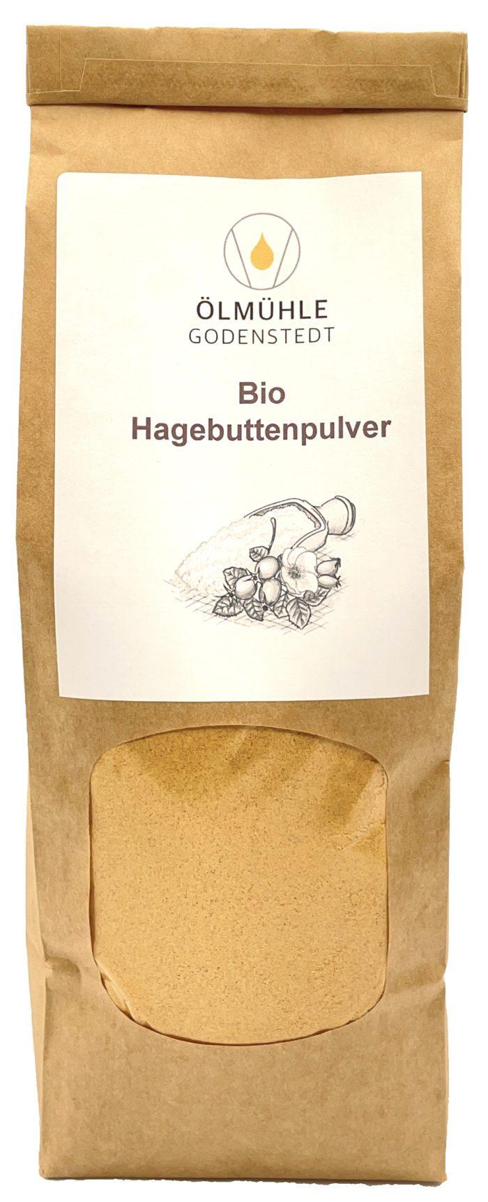 Bio-Hagebuttenpulver von der Ölmühle Godenstedt
