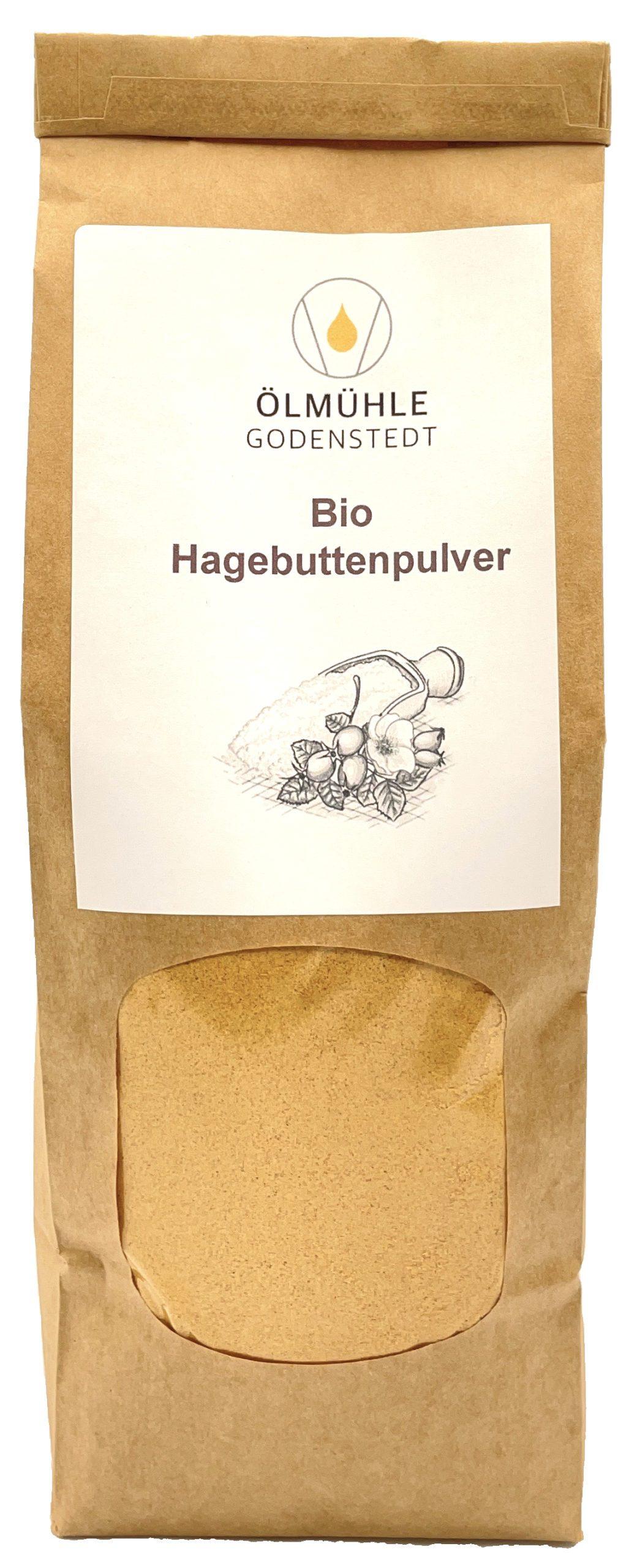 Bio Hagebuttenpulver von der Ölmühle Godenstedt Bio aus Deutschland